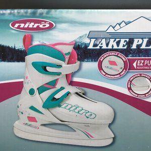 Lake Placid Nitro ice skates girls adjustable size